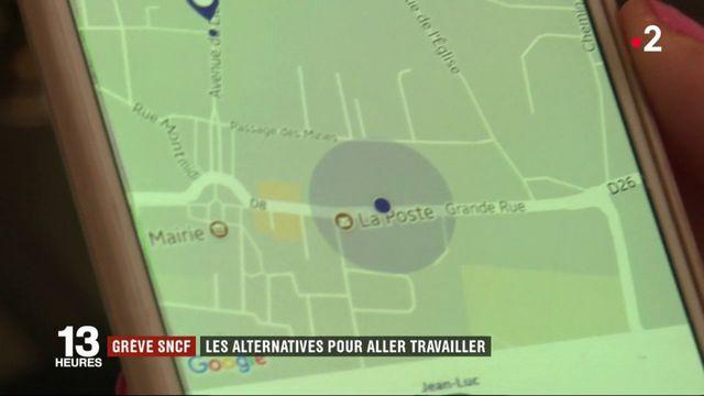 Grève SNCF : les alternatives pour aller travailler
