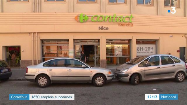 Carrefour : 1 850 emplois supprimés