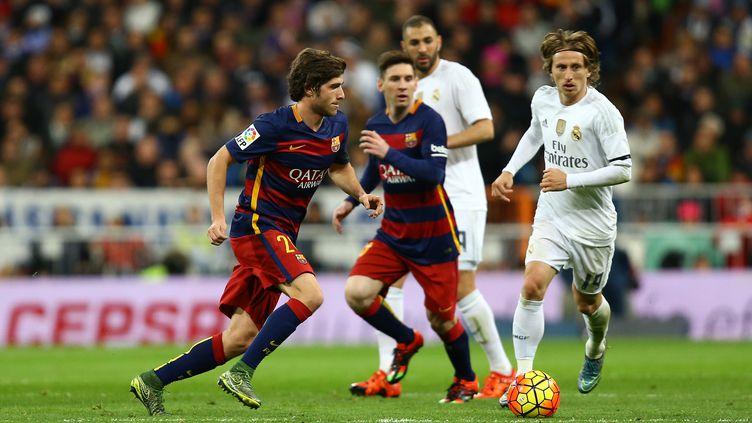 La révélation Sergi Roberto, remarquable lors du Clasico, samedi dernier, contre le Real Madrid. (MANUEL BLONDEAU / AOP PRESS)