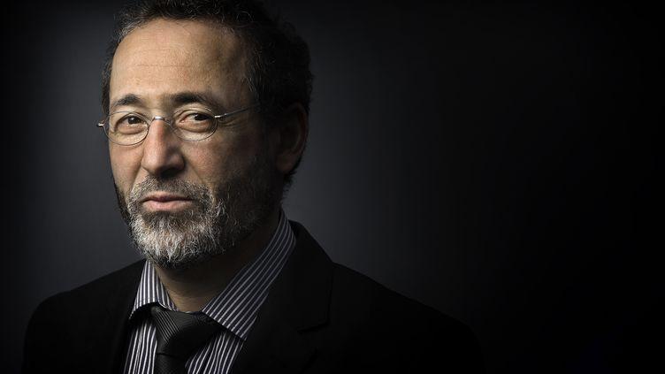 Tareq Oubrou,le recteur de la grande mosquée de Bordeaux (Gironde) à Paris, le 11 mars 2011. (JOEL SAGET / AFP)