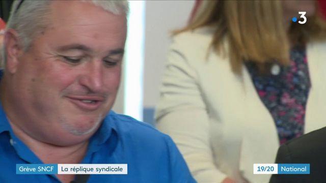 Grève SNCF : la réplique des syndicats au gouvernement