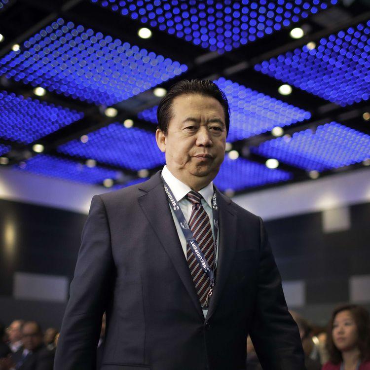 L'ancien président d'Interpol, Meng Hongwei, le 5 octobre 2018 à Singapour. (WONG MAYE-E / AP / SIPA)