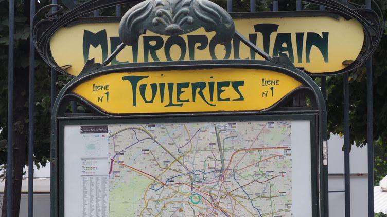 Le 19 juillet 2020 a marqué le 120e anniversaire de la ligne N°1 du métro parisien. (MAXPPP)