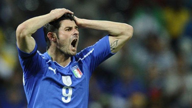 A l'image de Iaquinta, l'Italie avait connu une énorme déception lors du Mondial  2010