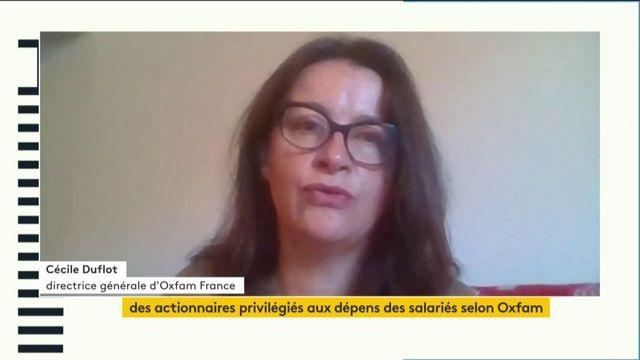 """VIDEO. """"Des milliers de gens pensent que l'on ne peut plus continuer comme avant la crise"""", estime la directrice générale d'Oxfam France Cécile Duflot"""