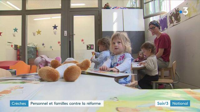 Crèches : le projet de réformes ne passe pas