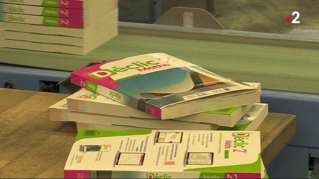 Rentrée scolaire : la réforme fait la joie des éditeurs de manuels scolaires