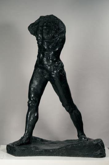 """""""L'homme qui marche """" Bronze H. 213,5 cm ; L. 71,7 cm ; P. 156,5 cm  (Musée Rodin )"""