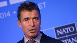 (L'ex-secrétaire général de l'Otan Anders Fogh Rasmussen © REUTERS | Yves Herman)