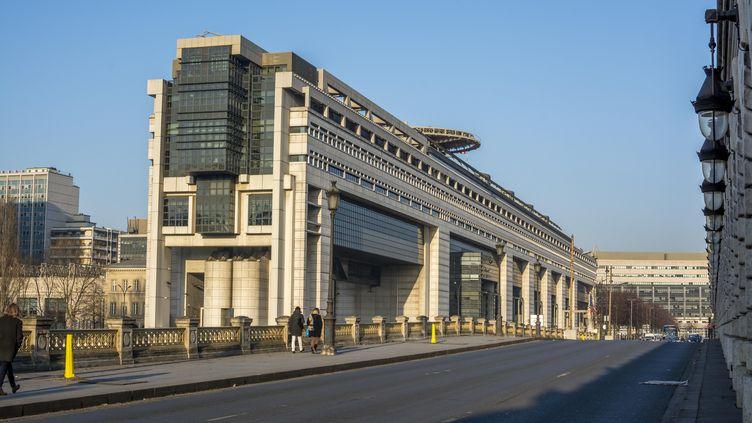 Le ministère de l'Economie et des Finances, dans le 12e arrondissement de Paris, le 15 mars 2017. (BERNARD JAUBERT / ONLY FRANCE)