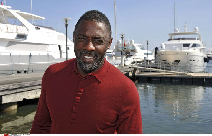 Idris Elba, ici à Cannes (Alpes-Maritimes) le 14 avril 2015, pourrait un jour peut-être enfiler le costume du meilleur espion de Sa Majesté. (AP / SIPA)