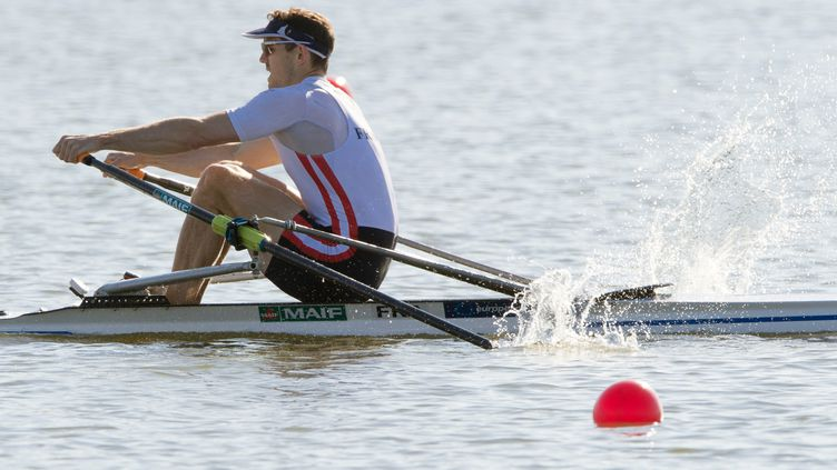Cedric Berrest a échoué dans sa course à la qualification olympique (SOEREN STACHE / DPA)