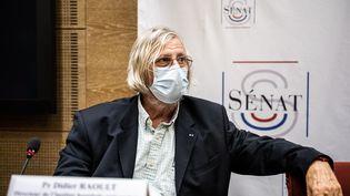 Didier Raoult, le 15 septembre 2020. (XOS? BOUZAS / HANS LUCAS)