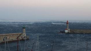 Peu de dégâts matériels notables en Corse après le passage de la tempête Carmen, mais des perturbations dans les transports. (PATRICK ROSSI/FRANCE BLEU RCFM)