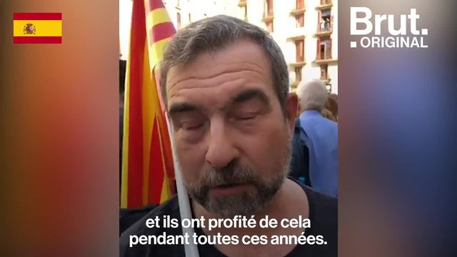 En Espagne, des centaines de milliers de personnes dans la rue autour d'une question : pour ou contre l'indépendance de la Catalogne ? Brut a demandé leur avis à des pro et anti-indépendantistes. Duel.