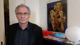 Daniel Knoll, l'un des fils de Mireille Knoll. (SÉBASTIEN BAER / RADIO FRANCE)