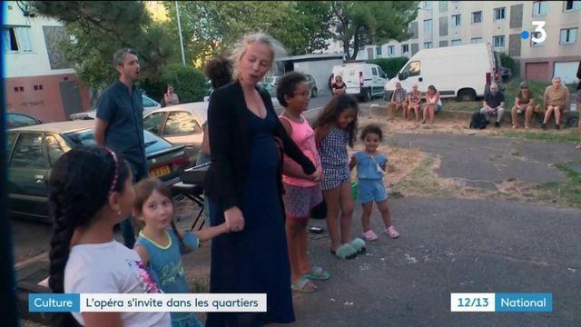 Aix-en-Provence : l'opéra s'invite dans les quartiers