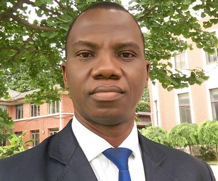 Mohamed Camara est un juriste guinéen et enseignant à l'université de Conakry. Il insiste sur le respect du caractère laïc de l'Etat guinéen. (Photo/M.Camara)
