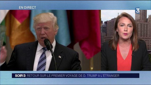 Trump : une première tournée à l'étranger sans couac