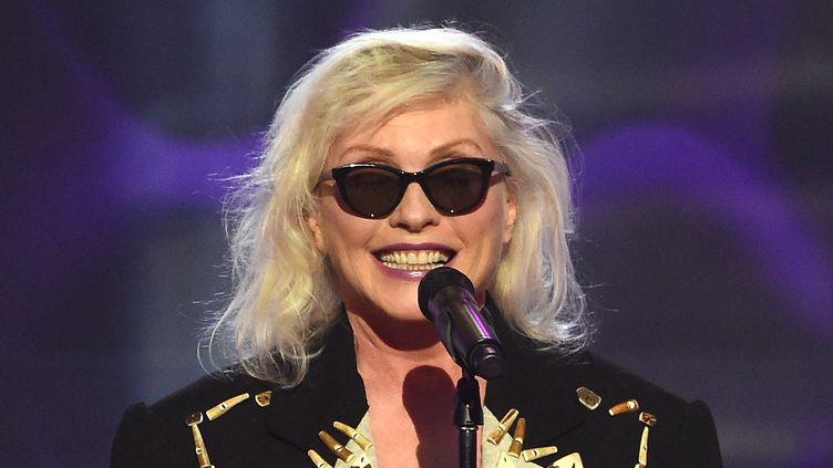 Debbie Harry de Blondie en décembre 2016 à New York.  (Nicolas Hunt / Getty Images / AFP)