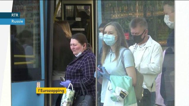 Eurozapping : l'épidémie de coronavirus progresse en Russie et en Pologne