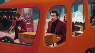 """Metronomy dans le clip de """"Love Letters"""" signé Michel Gondry  (DR)"""