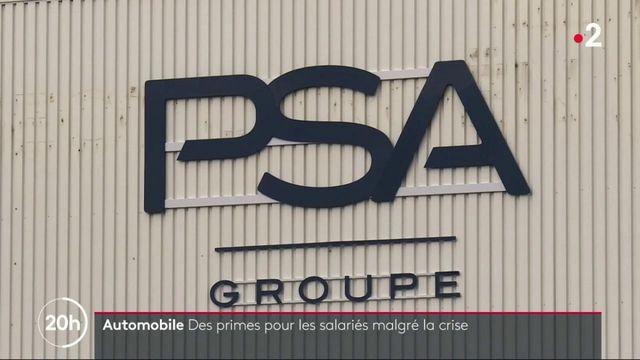 Automobile : des primes pour les salariés de PSA, malgré la crise