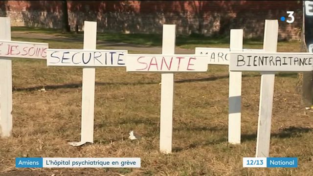 Amiens : l'hôpital psychiatrique en grève