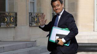 Gérald Darmanin (ici en photo) et Thierry Solère ont dit qu'ils quitteraient Les Républicains siLaurent Wauquiez était élu (LUDOVIC MARIN / AFP)