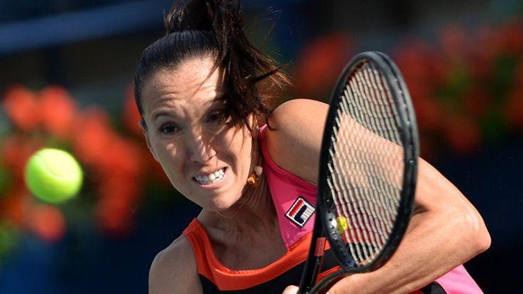 La Serbe Jelena Jankovic (MARWAN NAAMANI / AFP)