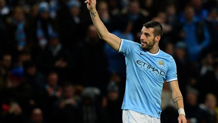 Après Manchester City, Alvaro Negredo est de retour en Premier League (ANDREW YATES / AFP)