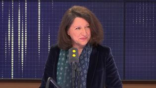 """La ministre des Solidarités et de la Santé, invité du """"8h30 Cadet-Dély"""", vendredi 18 janvier 2019. (FRANCEINFO / RADIOFRANCE)"""