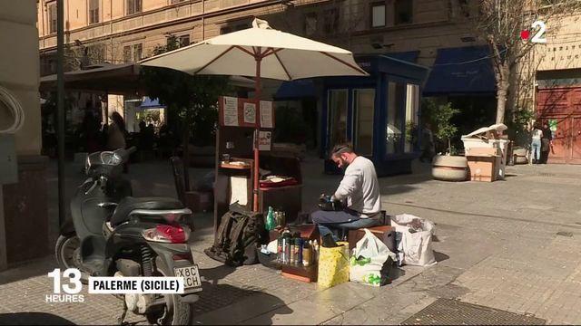 Sicile : le retour des cireurs de chaussures