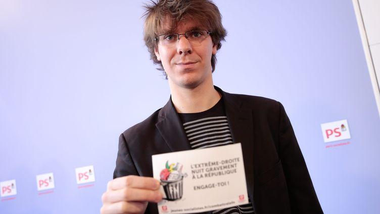 Thierry Marchal-Beck le 4 mars 2013 à Paris. (MAXPPP)