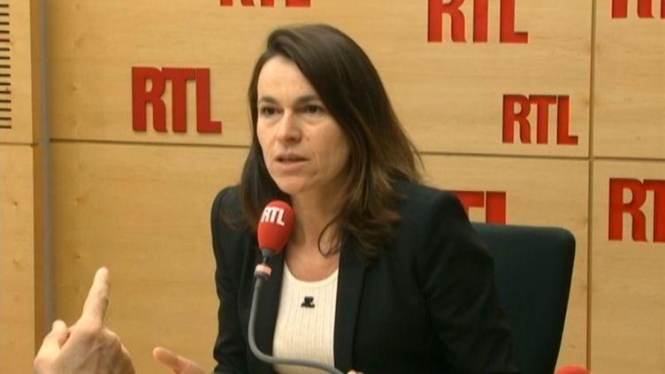Aurélie Filippetti, députée de Moselle, aui micro de RTL, le 5 mars 2015. (RTL)