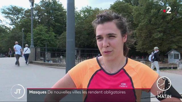Coronavirus : à Lille, le port du masque obligatoire en extérieur ne fait pas l'unanimité