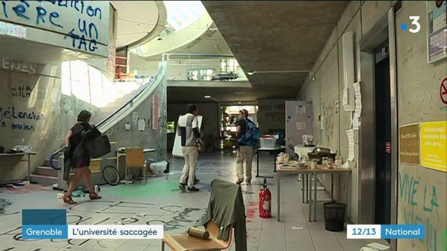 Grenoble : les bloqueurs ont saccagé l'université