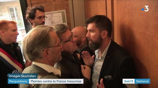 La France insoumise : après les perquisitions musclées, les plaintes en série