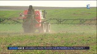Le glyphosate est beaucoup utilisé par les agriculteurs. (FRANCE 3)