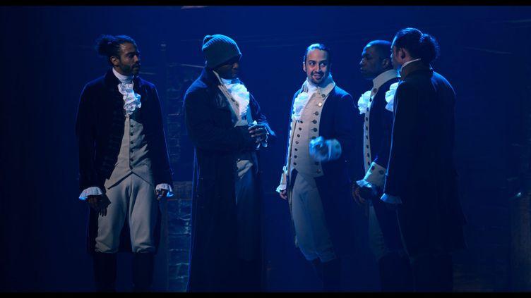 La comédie musicale Hamilton raconte l'histoire de la construction de l'Amérique, de son indépendance à la Constitution. (Disney +)
