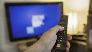 BFMTV,RMC Découverte et RMC Storyà nouveau disponiblessur les Freebox après un accord entre Iliad et Altice conclu mardi 10 septembre. (IDRISS BIGOU-GILLES / HANS LUCAS / AFP)