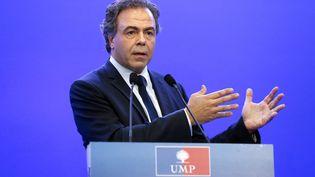 Luc Chatel, secrétaire général de l'UMP, à Paris, le 14 juillet 2014. (THOMAS SAMSON / AFP)
