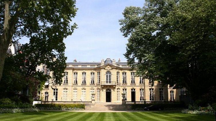 L'Hôtel Matignon vu de son jardin. (THOMAS COEX / AFP)