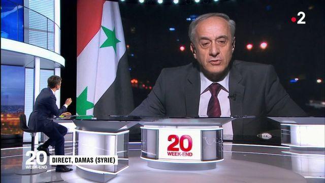 Syrie : le régime affirme avoir détruit tout son stock s'armes chimiques