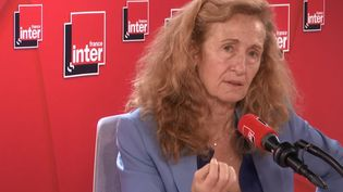 La ministre de la Justice, Nicole Belloubet, invitée de France Inter mercredi 6 novembre 2019. (RADIO FRANCE)