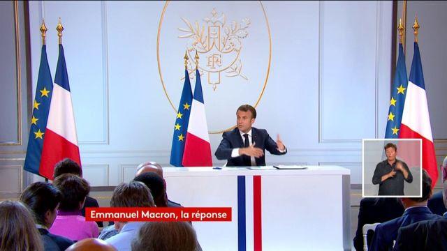 Augmentation du temps de travail, âge légal de départ à la retraite : Emmanuel Macron précise le financement des mesures sociales