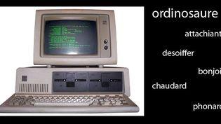"""""""Ordinosaure"""", vieil ordinateur bon pour le musée  (Culturebox)"""