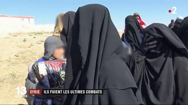 Syrie : les derniers survivants des combats contre Daech interceptés