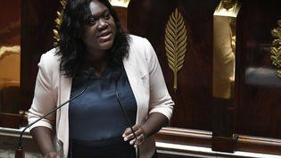 La députée LREM Laetitia Avia à l'Assemblée nationale, à Paris, le 3 juillet 2019. (STEPHANE DE SAKUTIN / AFP)