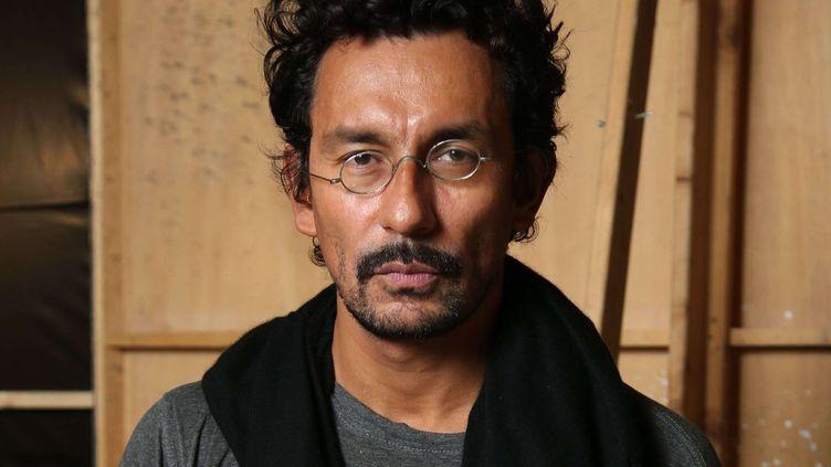 Haider Ackermann, le 3 octobre 2015, pendant la Fashion Week à Paris.  (REX Shutterstock/SIPA)